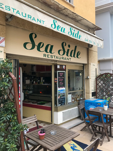 Where we had lunch on Cap Ferrat