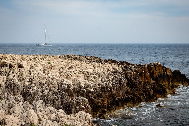 Very Rocky Terrain on Cap Ferrat