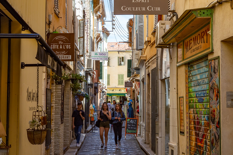 Another Alley in Antibes