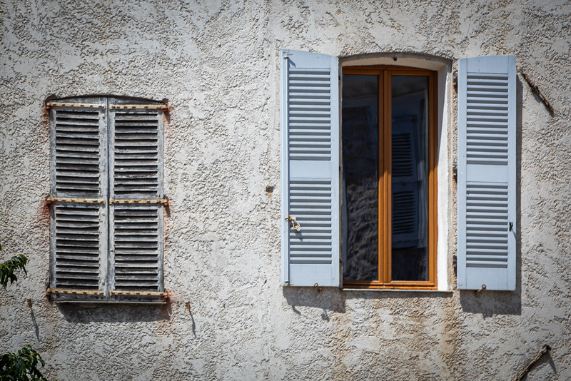 Windows in Old Town