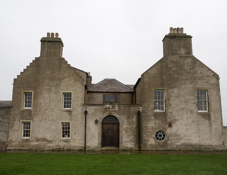 Skaill House, near Skara Brae. It's supposed to be haunted - there's an old Norse cemetery under the house. The skeletons are still there - one was recently uncovered when a floor was being replaced. It was left where it was.