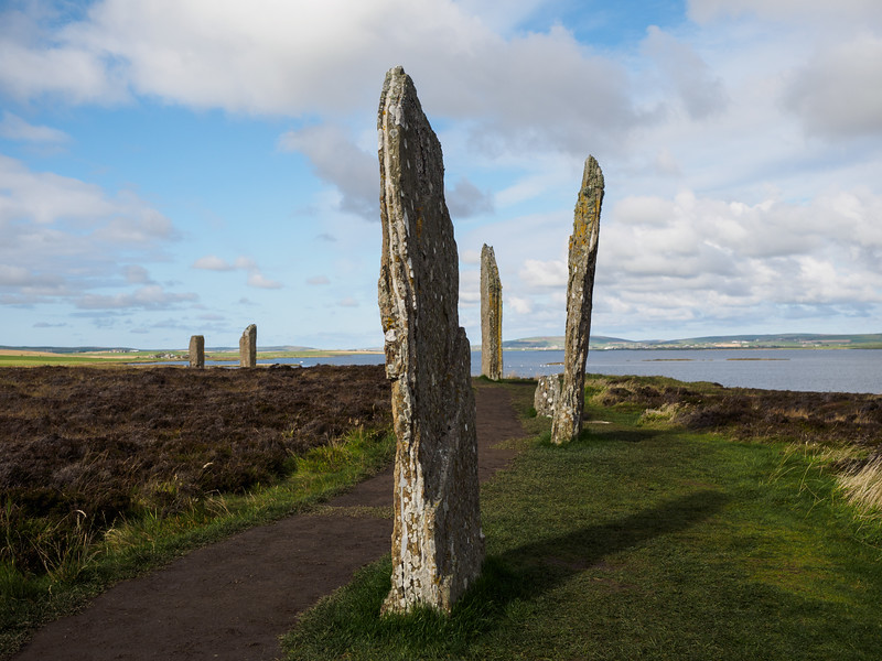 They're also quite narrow, like the stones at Stenness.
