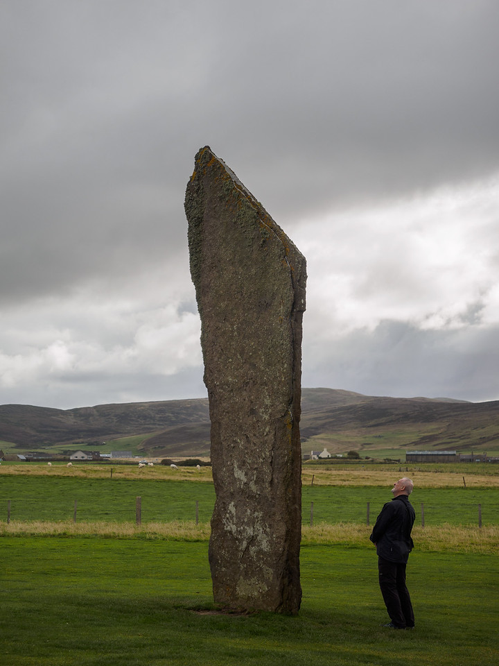 Yes, it's big. Some of the stones are over 5m high.