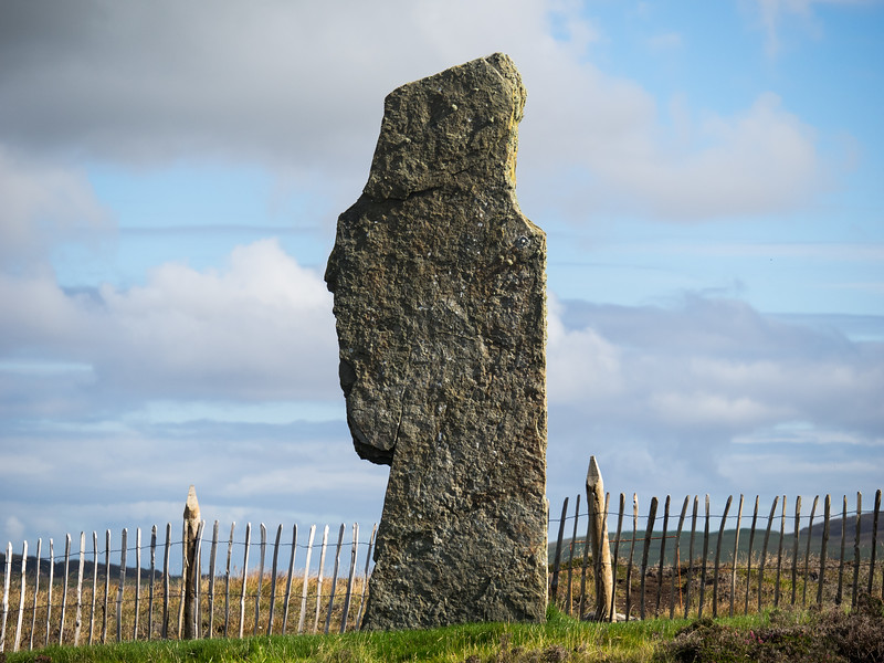 I'm sure I can see a face in profile here. Reminiscent of Easter Island.