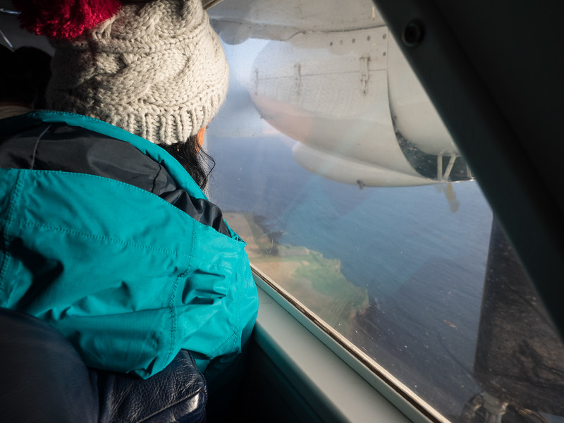 I flew to another island, Papa Westray, in the far north of the Orkney Islands. The flight from  Westray to Papa Westray is the shortest scheduled flight in the world - it took two minutes.