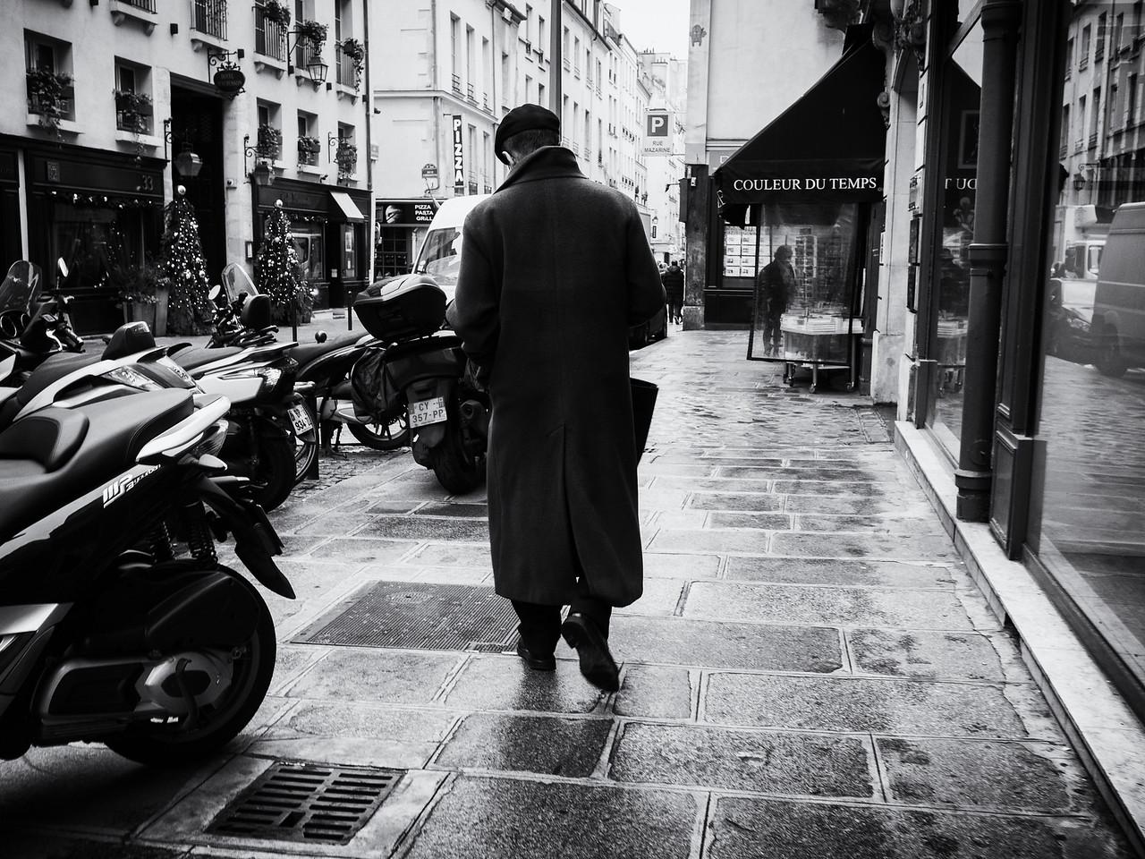 A beret-wearing Parisian.