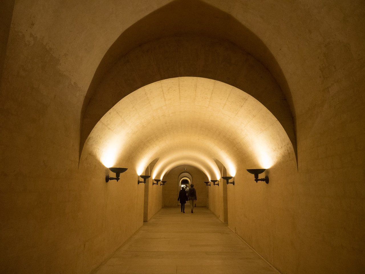 The crypt is massive, with lots of side chambers.
