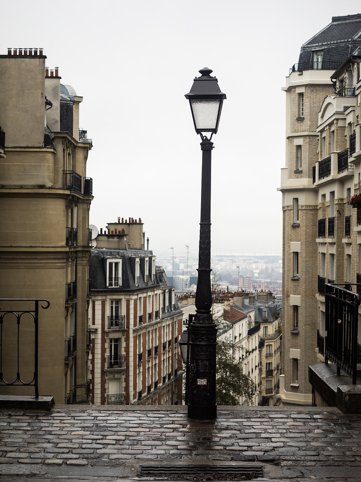 Looking down from Montmartre.