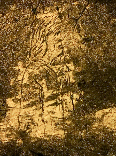 Carvings on the Chalk Walls