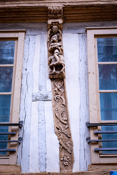 Half-Timbered Carvings