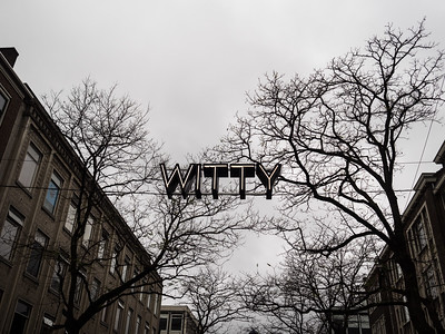 Witte de Withstraat Is (apparently) the coolest street in Rotterdam. So I felt totally at home...
