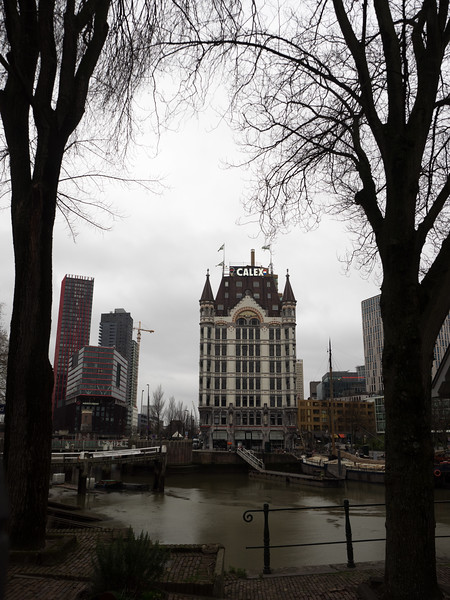 Back in Rotterdam, this is the Witte Huis  (White House) in the old harbour area. When it was built in 1898 it was the tallest building in Europe, at 10 storeys.