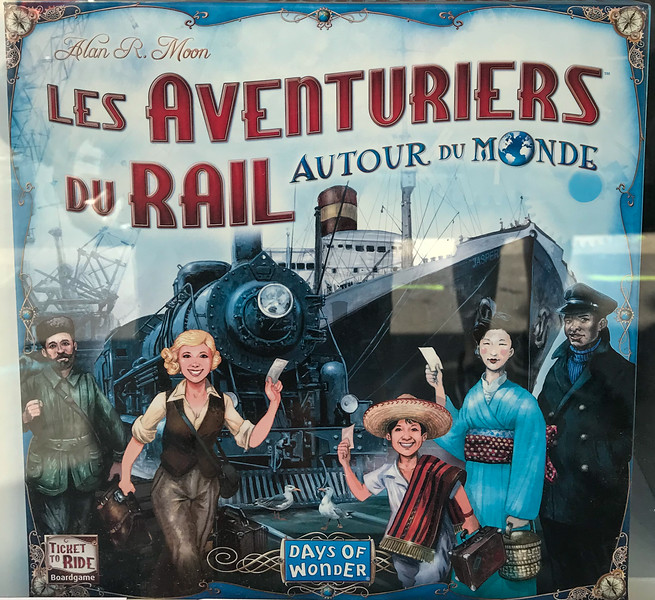 Ticket to Ride!