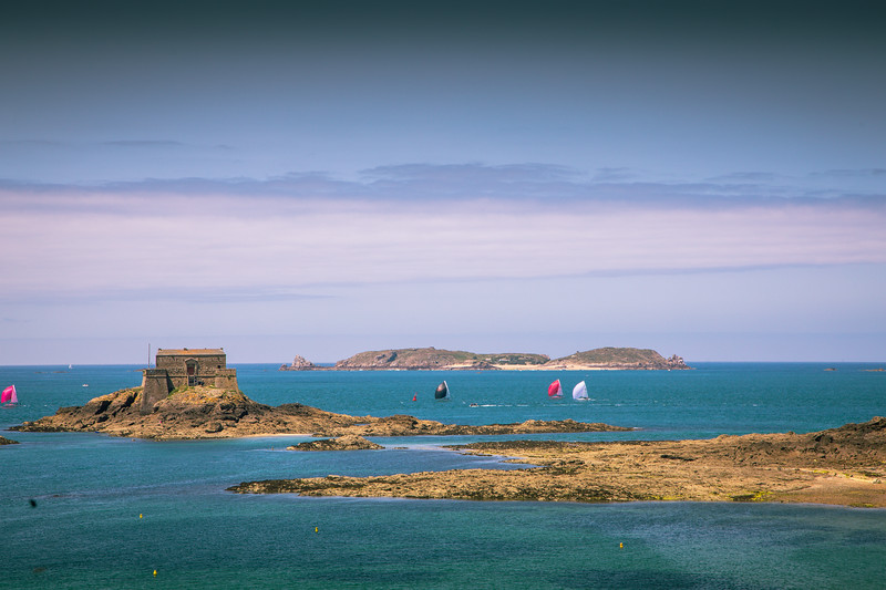 Petit Bé from the Walls of St Malo