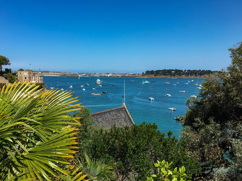 Looking Across the Bay to St Malo from Dinard