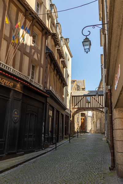 Typical Street in St Malo