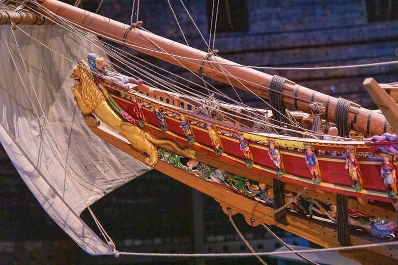 Vasa Model - Bow