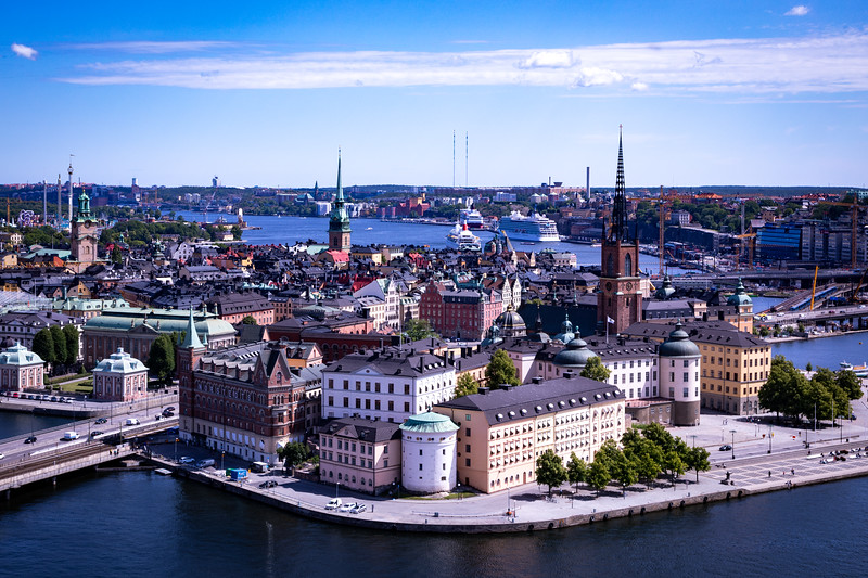 View of Gamla Stan - The Old Town