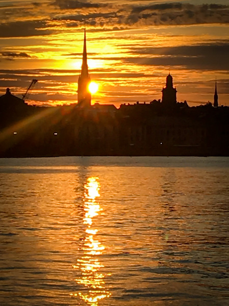 Sunset Over Gamla Stan #1