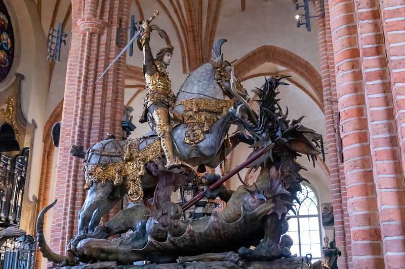 Sankt Göran och draken - Saint George and the Dragon