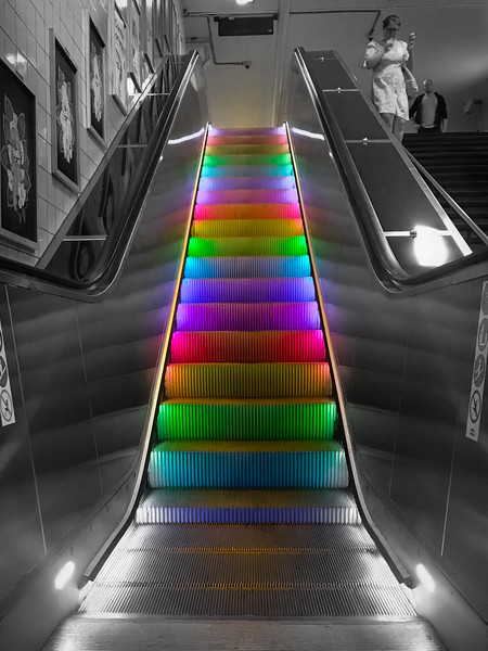 Escalator Pride!