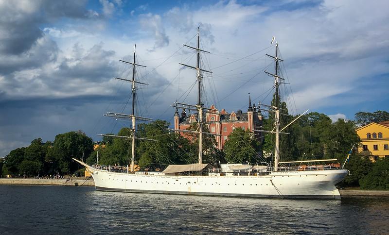 3 Masted Ship - af Chapman