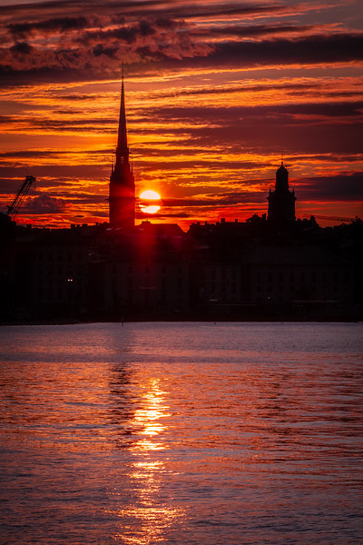 Sunset Over Gamla Stan #2