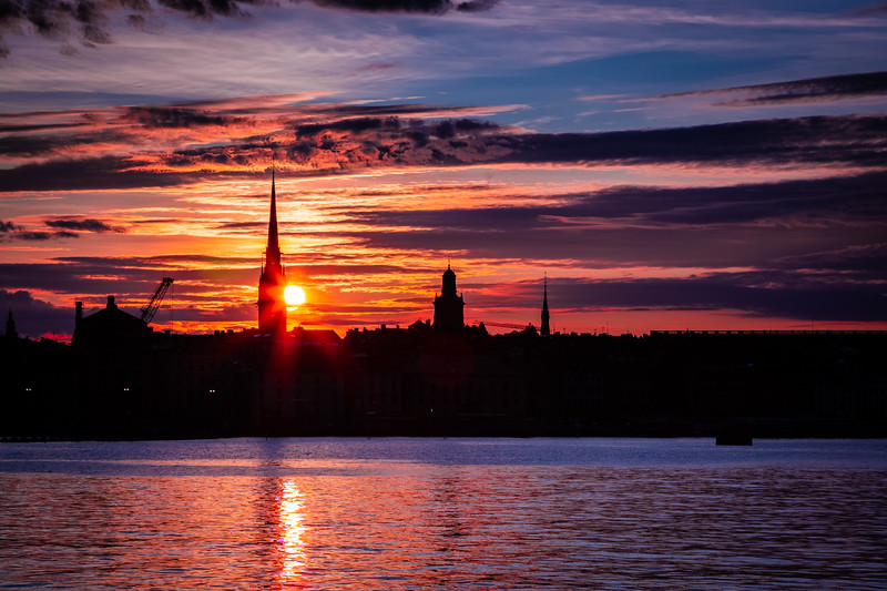 Sunset Over Gamla Stan #3