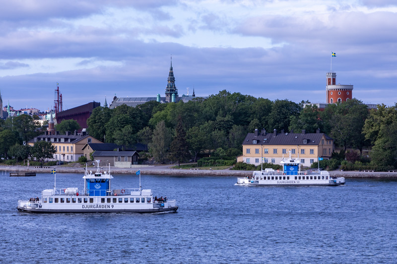 Stockholm Public Transportation - Water Busses