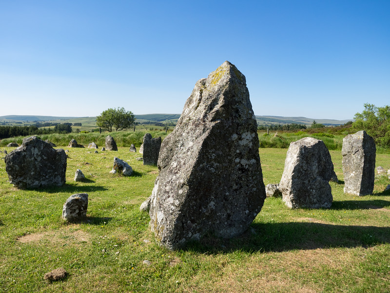 The slightly underwhelming Bronze Age stone circles and alignments at Beaghmore.