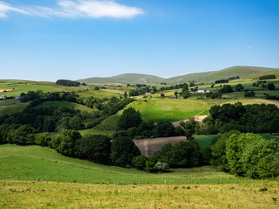 The rolling hills made it look like Yorkshire.