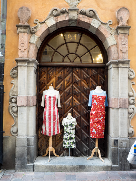Plenty of interesting shopping to be done in Gamla Stan.