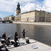 Band practice with a view, Gothenburg.