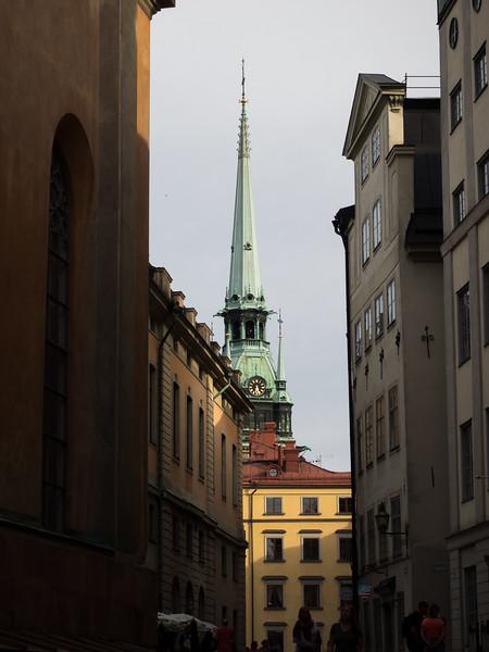 In Gamla Stan, Stockholm.