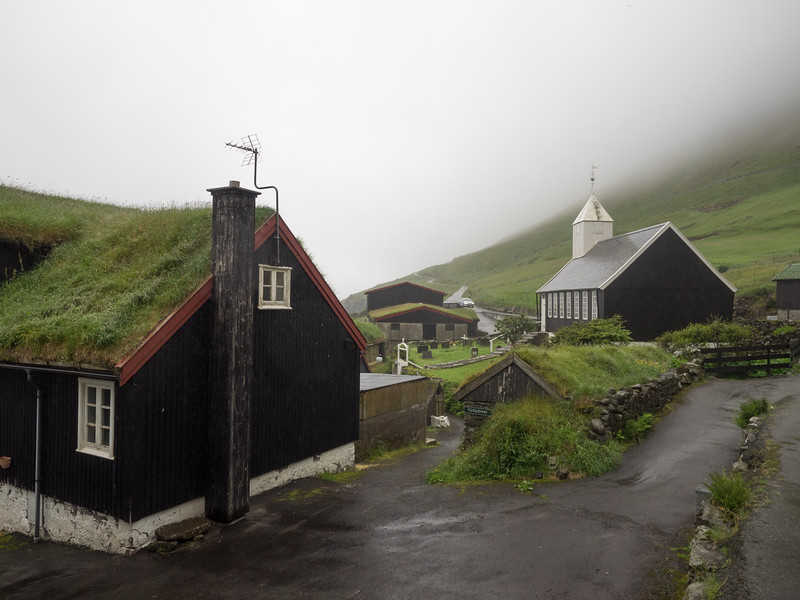 The churches sometimes feel like they're protecting the villages from the wildness of the nature beyond.