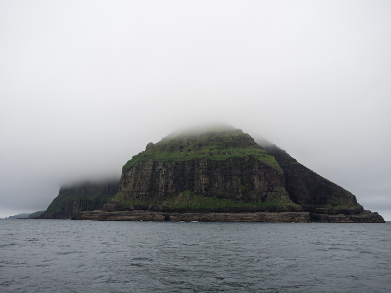 On the ferry to the enigmatic island of Mykines, at the western extreme of the Faroes.