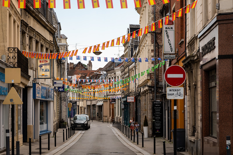 Street in the Old Section of Valenciennes