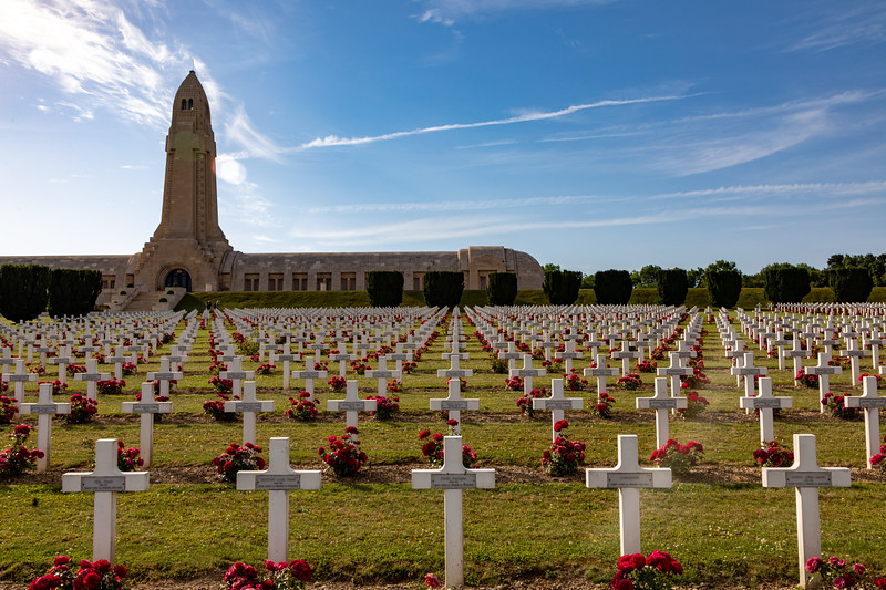 French Military Cemetery and Douaumont Ossuary