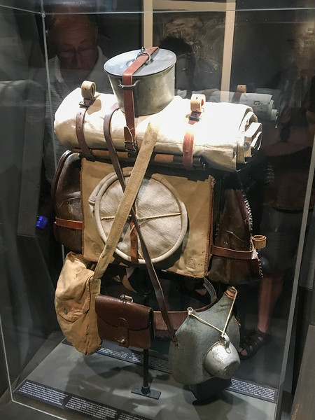 French (?) Rucksack from 1916