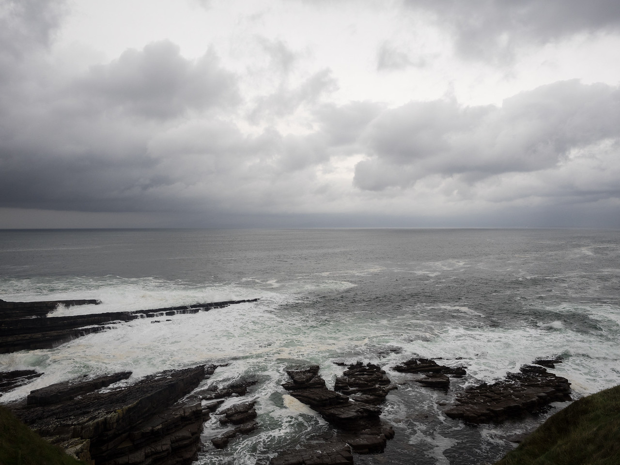 The real Wild Atlantic Way - around the back of Mullaghmore.