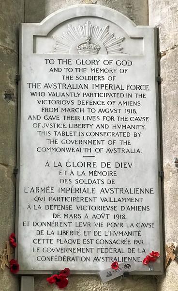 WWI Memorial - Australia