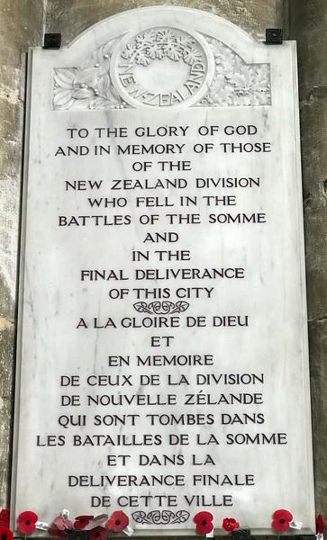 WWI Memorial - New Zealand