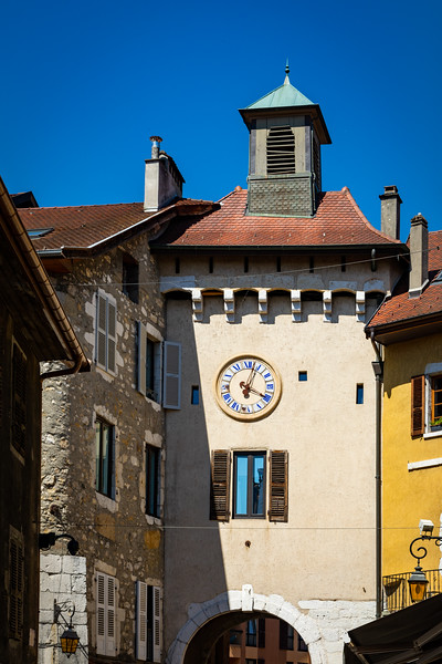 Clock Tower in Annecy