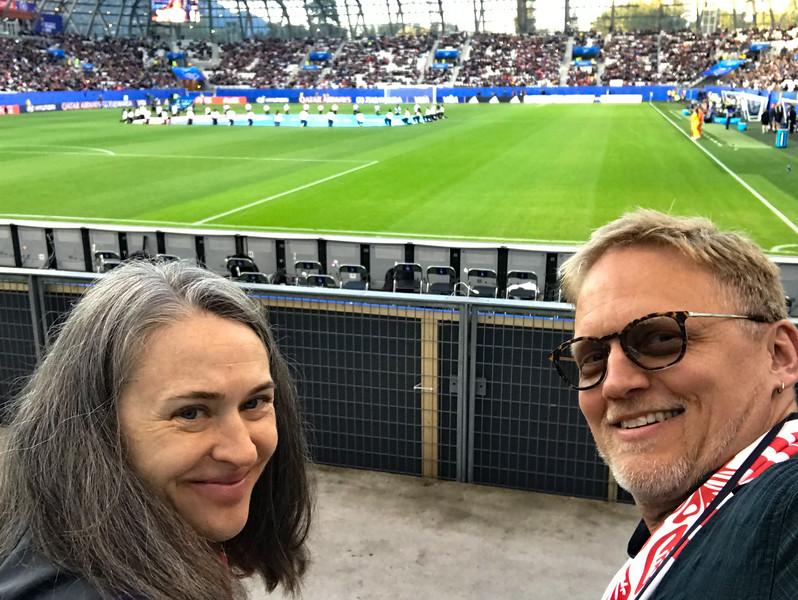 Grenoble Soccer Match