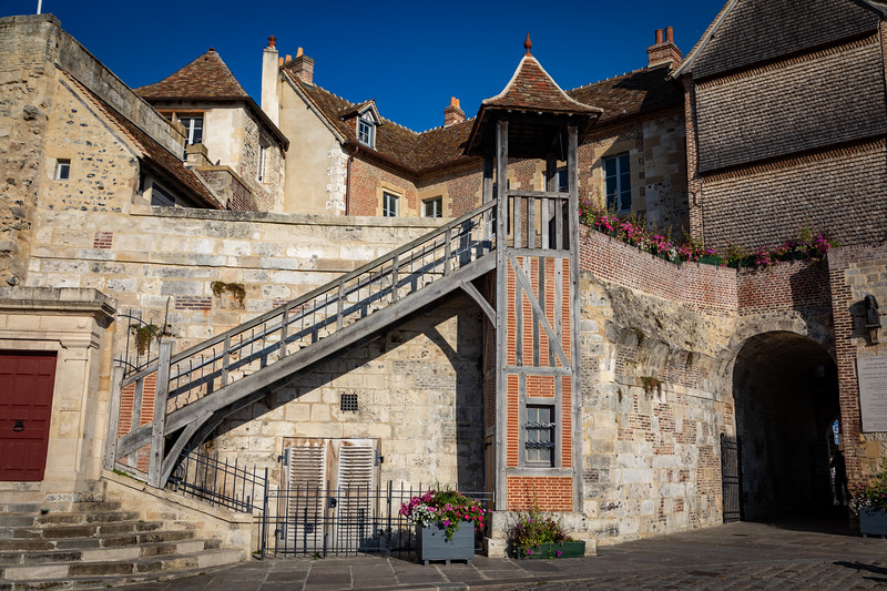 One of the old City Gates of Honfleur