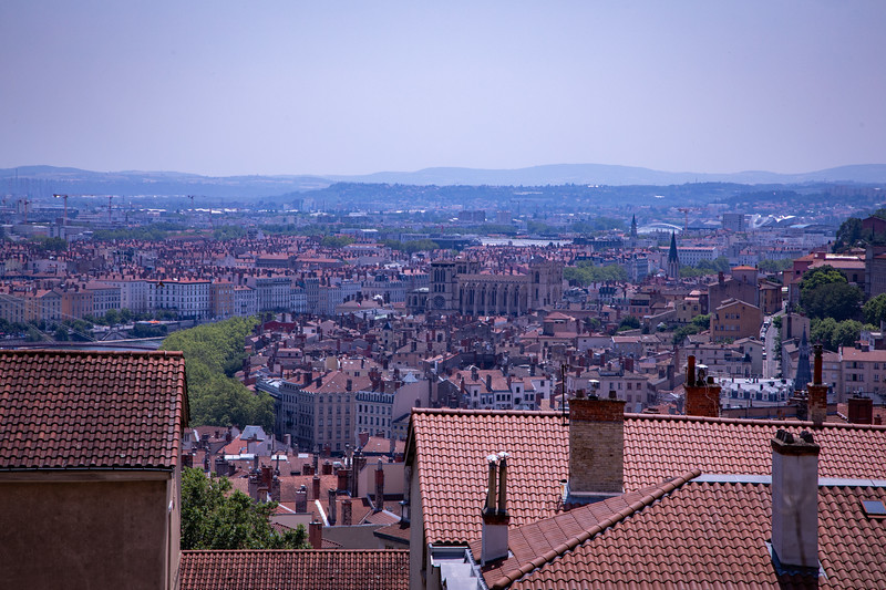 View of Lyon from the Croix-Rousse Hill
