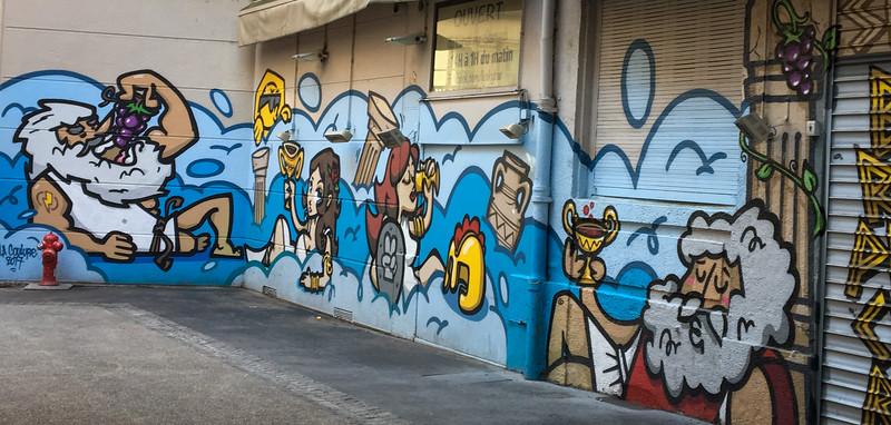 Bacchanalia Street Art