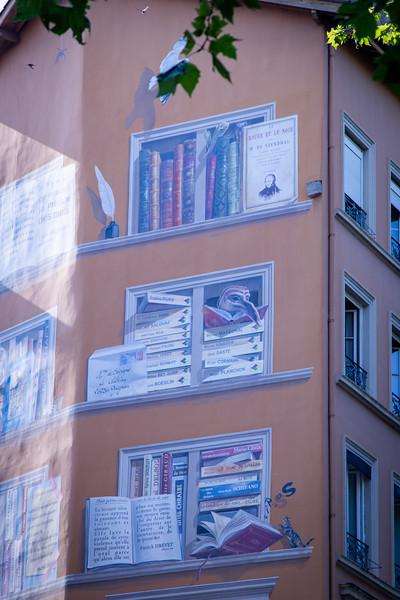 La Bibliothèque de la Cité Mural