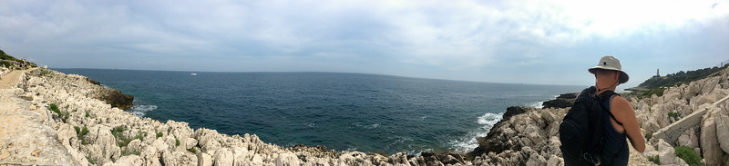 Hiking in Cap Ferrat