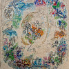 Mosaic by Chagall Depcting the Zodiac